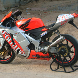 "TYGA Heck-Set Street ""RC211V"", Honda NC30"