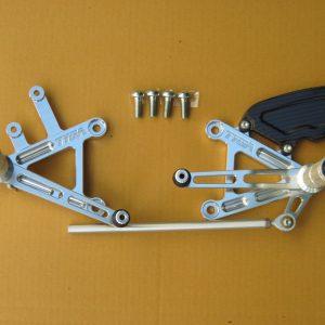 TYGA Fußrastenanlage CNC Alu, Honda VTR1000 SP2