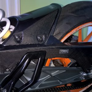TYGA Hinterradabdeckung Carbon, KTM Duke/RC 125/390