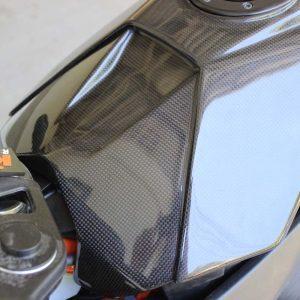TYGA Batterieabdeckung Carbon, KTM RC125/RC390