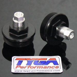 TYGA Gabelverschlusskappen (Paar), KTM RC390