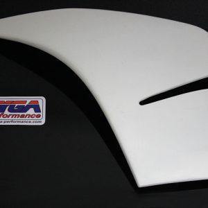 TYGA Seitenverkleidung -A- GFK links, KTM RC125 / RC390
