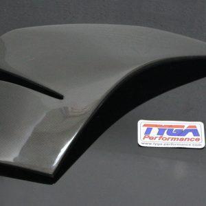 TYGA Seitenverkleidung -A- Carbon rechts, KTM RC125/RC390