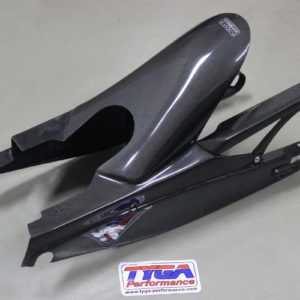 TYGA Hinterradabdeckung/Kettenschutz/Schwingenschutz Carbon KTM Duke/RC 125/390
