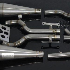 TYGA Auspuffanlage, Race System -double maggot-, KTM RC390 2014-2016
