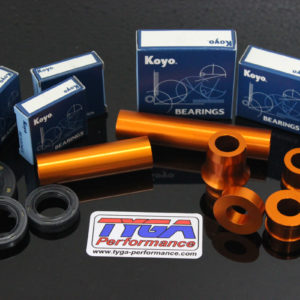 TYGA Raddistanzhülsen Aluminium, KTM RC 125/390