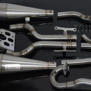 TYGA Auspuffanlage, Race System -double maggot-, KTM RC390 2017