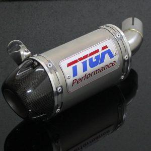 TYGA Endschalldämpfer Edelstahl mit Carbon Cover, Yamaha R3