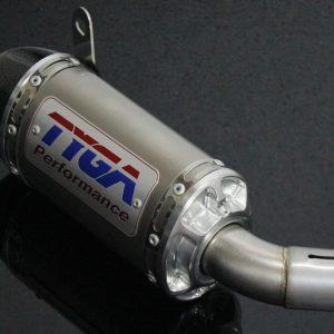 TYGA Endschalldämpfer Edelstahl, Yamaha R3