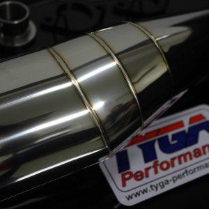 TYGA Auspuffanlage side by side Edelstahl, Yamaha RD350LC (4LO)
