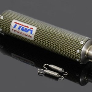 TYGA Endschalldämpfer GP-T, Carbon/Kevlar