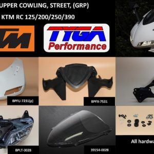 "TYGA Verkleidungsset ""Street"", KTM RC125/390"