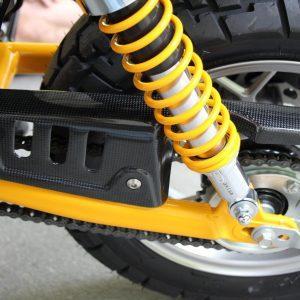 TYGA Kettenschutz Carbon, Honda Monkey 125 2018