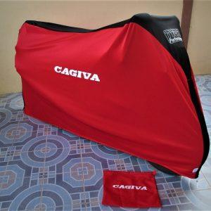 TYGA Abdeckhaube rot/schwarz Cagiva