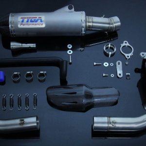 TYGA Auspuffanlage WSS300 (Race), KTM RC390