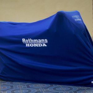 TYGA Abdeckhaube blau Rothmans Honda