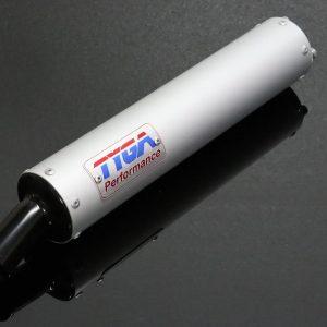 TYGA 2-Takt Endschalldämpfer Aluminium Classic