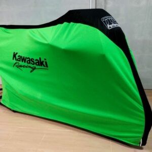 TYGA Abdeckhaube grün/schwarz Race, Kawasaki