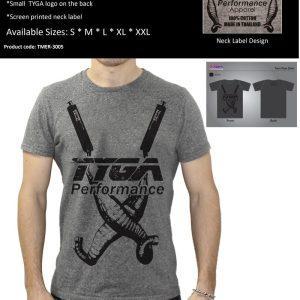 TYGA T-Shirt -Twin chambers- grau,  Größen: S – XXL