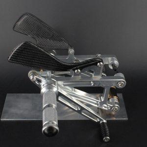 Racing Fußrastenanlage CNC Alu, Aprilia RS250