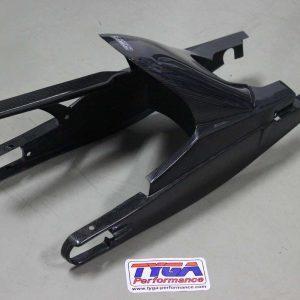 TYGA Hinterradabdeckung/Kettenschutz/Schwingenschutz Carbon KTM RC125/390