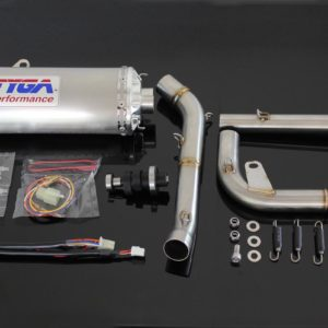 "TYGA / KITACO Power Kit ""stainless"", Honda MSX125 GROM"