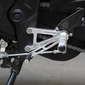 TYGA Racing Fußrastenanlage CNC Alu, Yamaha R3