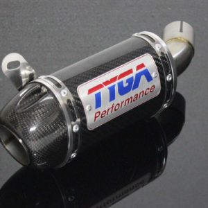 TYGA Endschalldämpfer Carbon mit Carbon Cover, Yamaha R3
