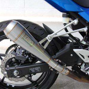 TYGA Auspuffhalter Aluminium, Kawasaki Ninja 400