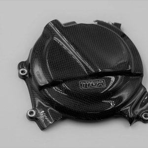 TYGA Motorschutzdeckel Carbon (Satz), Kawasaki Ninja 400