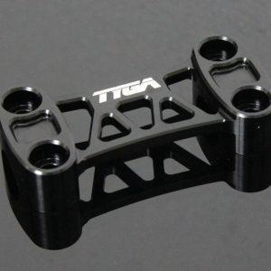TYGA Riserabdeckung CNC schwarz, Honda MSX 125 GROM / Monkey 125 2018