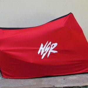 TYGA Abdeckhaube rot/schwarz NSR