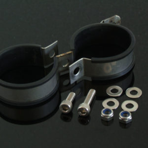 TYGA Doppel-Auspuffschelle 60mm