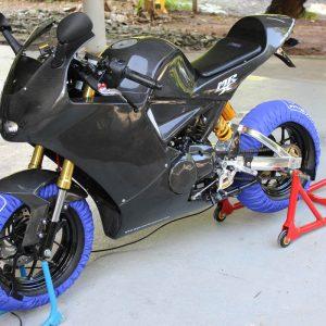TYGA Reifenwärmer (Satz) Minibike