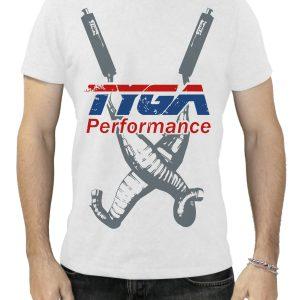 TYGA T-Shirt -Twin chambers- weiß,  Größen: S – XXL