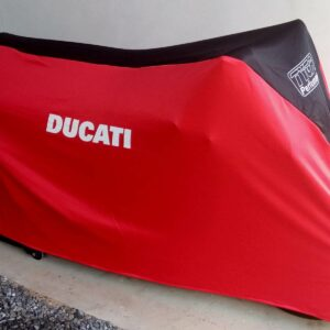 TYGA Abdeckhaube rot/schwarz Ducati