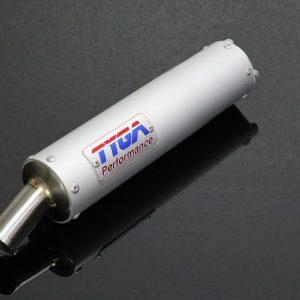 "TYGA Endschalldämpfer Aluminium Classic kurz ""SHORTY"""