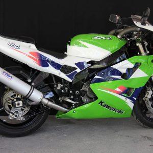 TYGA Racing Auspuffanlage mit Aluminium Endschalldämpfer, Kawasaki ZXR400L
