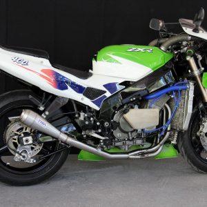 "TYGA Racing Auspuffanlage mit ""Maggot"" Endschalldämpfer, Kawasaki ZXR400L"