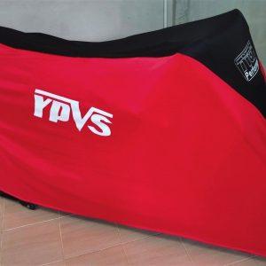TYGA Abdeckhaube rot/schwarz, Yamaha YPVS